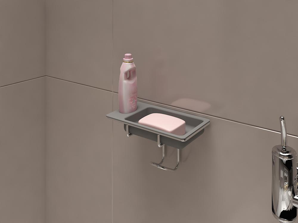 soap and shampoo holder